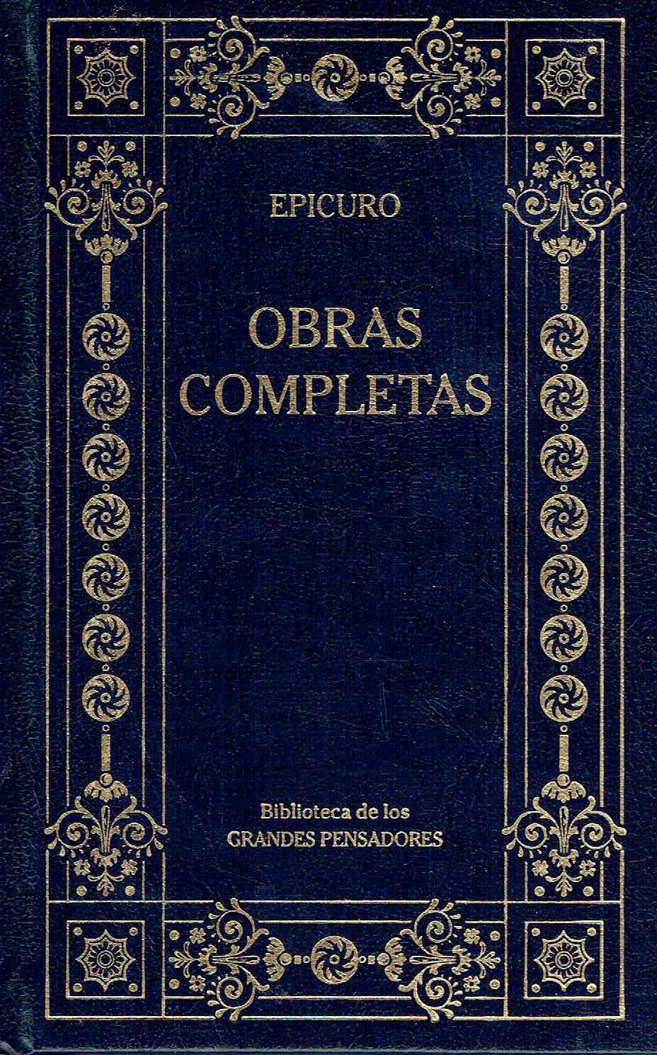 Obras Completas - Epicuro