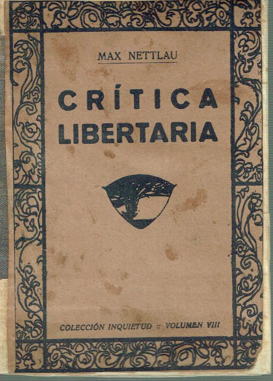 Cr�tica libertaria - Max Nettlau